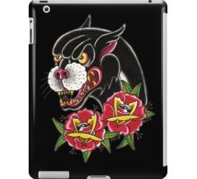 Traditional Panther Tattoo iPad Case/Skin