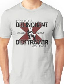 Delinquent Destroyer Tribute Shirt 1 [Square Design] Unisex T-Shirt