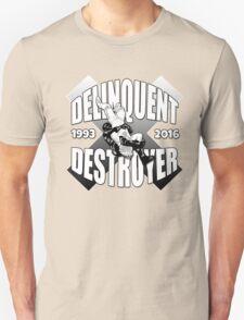 Delinquent Destroyer Tribute Shirt 2 [Round Design] T-Shirt