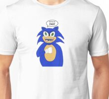 Sonic-Gotta Go Fast Unisex T-Shirt