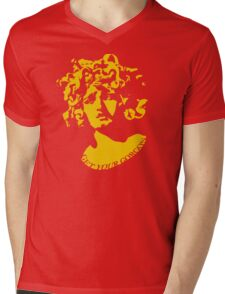 Gorgeous Gorgon (Gold) Mens V-Neck T-Shirt