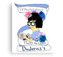 Inspirational Tina Canvas Print