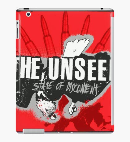 State of discontent iPad Case/Skin