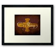 Shiny Serenity Firefly Art Framed Print