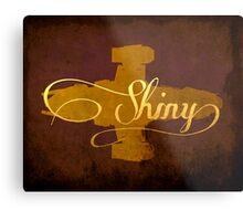 Shiny Serenity Firefly Art Metal Print
