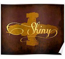 Shiny Serenity Firefly Art Poster