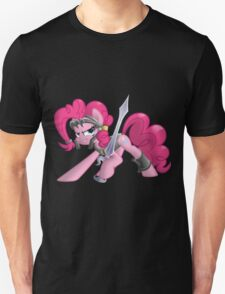 Pinkie Pie Ready for Battle Unisex T-Shirt