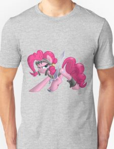 Pinkie Pie Ready for Battle Unisex T-Shirt