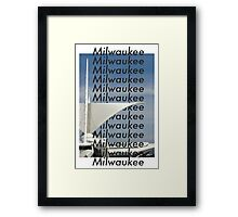 Milwaukee Milwaukee Framed Print