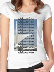 Milwaukee Milwaukee Women's Fitted Scoop T-Shirt