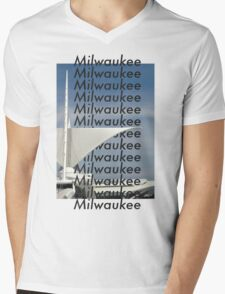 Milwaukee Milwaukee Mens V-Neck T-Shirt