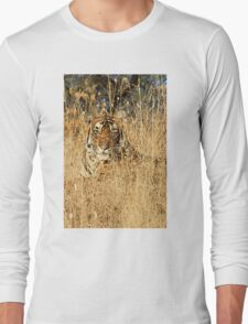 Sub-Adult Male Bengal Tiger Long Sleeve T-Shirt
