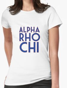 Alpha Rho Chi Womens Fitted T-Shirt