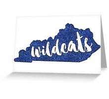 Kentucky Wildcats! Greeting Card