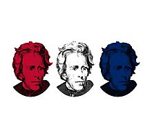 Andrew Jackson Red, White, and Blue Photographic Print
