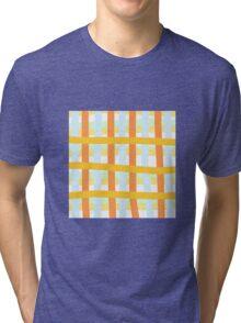 Basket Weave Tri-blend T-Shirt