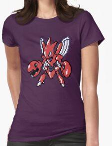 Scizor Retro Womens Fitted T-Shirt