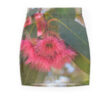 Red Flowering Gum Mini Skirt