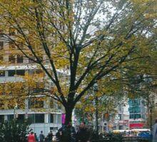 Autumn In New York Sticker