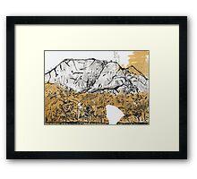 Castle Hill Framed Print
