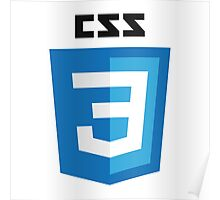 CSS3 Poster