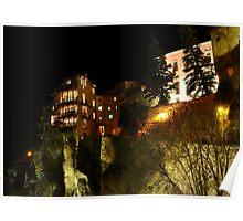 Cuenca - Casas colgadas Poster
