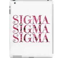 Tri Sigma roses iPad Case/Skin