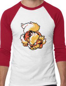 Arcanine Retro Men's Baseball ¾ T-Shirt