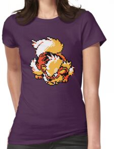 Arcanine Retro Womens Fitted T-Shirt