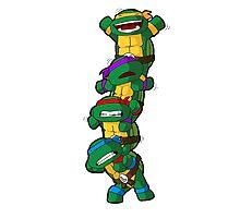 Funny Teenage Mutant Ninja Turtle  Photographic Print