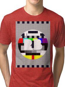Redbubble Default Test Pattern Tri-blend T-Shirt