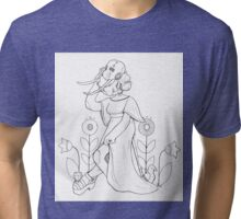 elephant bride Tri-blend T-Shirt