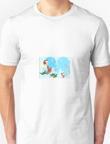 A Fairy sitting on a Holly branch ( 1154  Views) T-Shirt