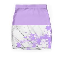 Paint me Purple Mini Skirt