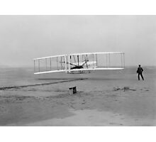 Wright Brothers First Flight Photographic Print