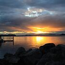 Sunset at Alder Bay by Alyce Taylor