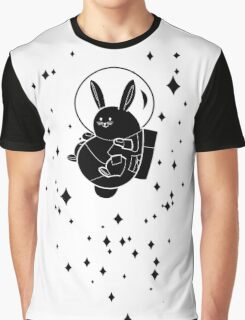 Space Bunny Graphic T-Shirt