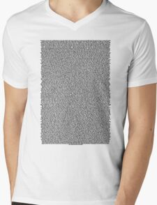 Real Bee Movie Script White Mens V-Neck T-Shirt