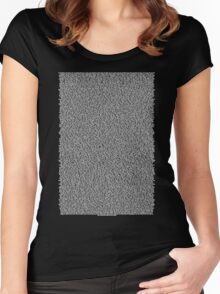 Real Bee Movie Script Black Women's Fitted Scoop T-Shirt