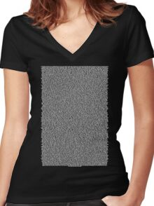 Real Bee Movie Script Black Women's Fitted V-Neck T-Shirt