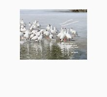 Les Oies Blanches : Si On Chantait - The White Geese : If We Sing Unisex T-Shirt