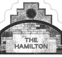 the hamilton Sticker