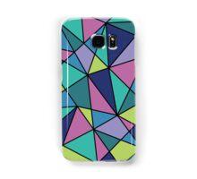 Multi-colored Polygonal Design Samsung Galaxy Case/Skin