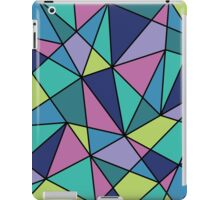 Multi-colored Polygonal Design iPad Case/Skin