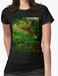 Green Adelaide Womens Fitted T-Shirt