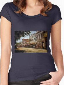 Old Sacramento Women's Fitted Scoop T-Shirt