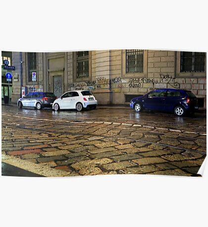 Fiat 500 Poster