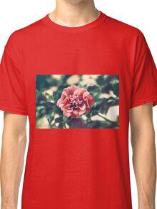 A Pink Flower in a Green World Classic T-Shirt