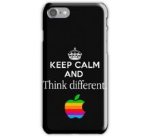 Keep Calm And Think Different iPhone Case/Skin