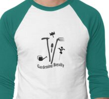 Gardening Royalty Men's Baseball ¾ T-Shirt